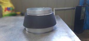Преход кръгъл симетричен с изолация от микропореста гума